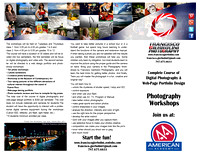 FGP Photography Workshops Brochure page 1