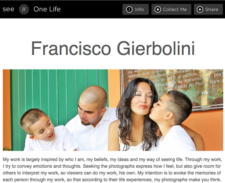 franciscogierbolini.see.me/onelife2012