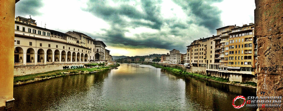 Window of Love, Arno River, Ponte Vecchio, Firenze 2013